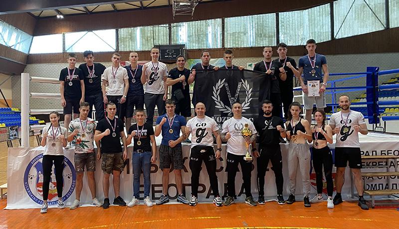 Kik bokseri Voždovca najbolji u Beogradu