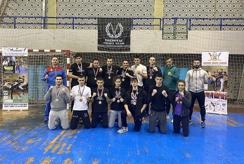 Dominacija Voždovčana se nastavlja - prvenstvo Srbije u savate combatu