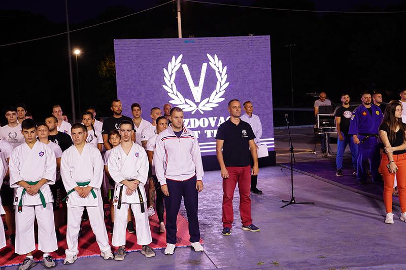 Humanitarno veče borilačkih sportova na otvorenim bazenima SC Voždovac