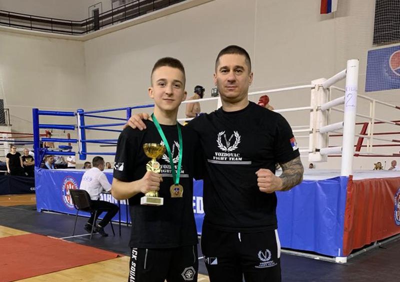 Prvenstvo Beograda u kik boksu (disciplina low kick) 2020.