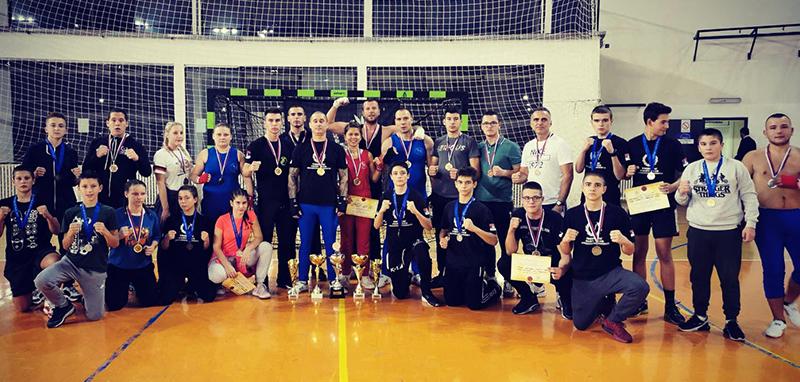 Uspeh KBS Voždovac na Trofeju Beograda u savate boksu