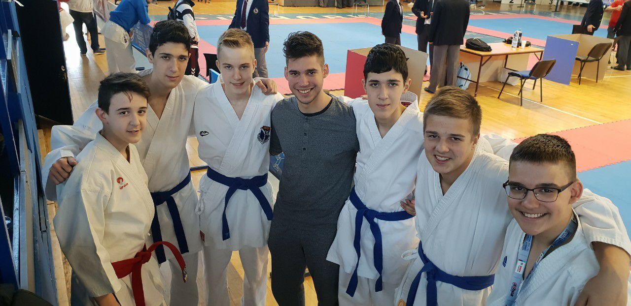 Karate klub Banjica na kupovima Beograda i Srbije
