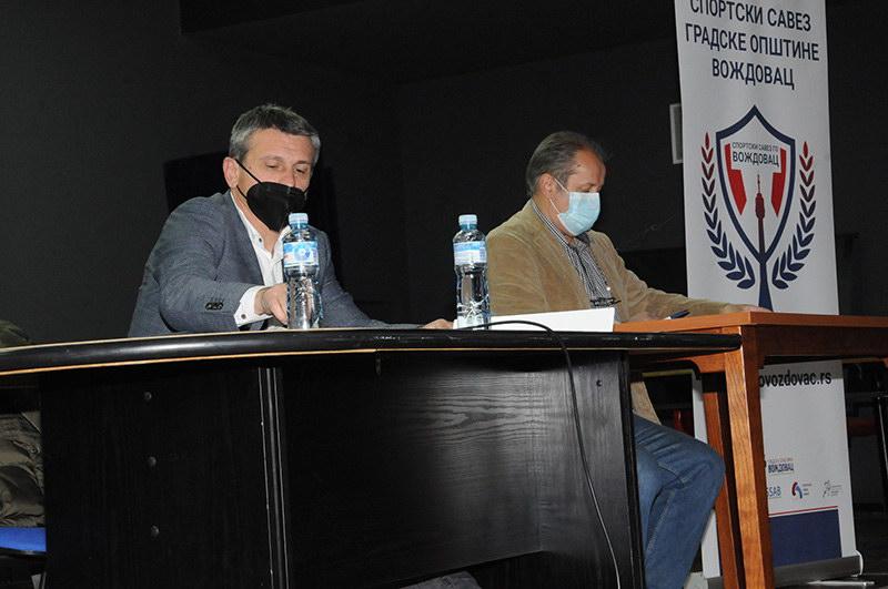 Održana sednica skupštine Sportskog saveza GO Voždovac